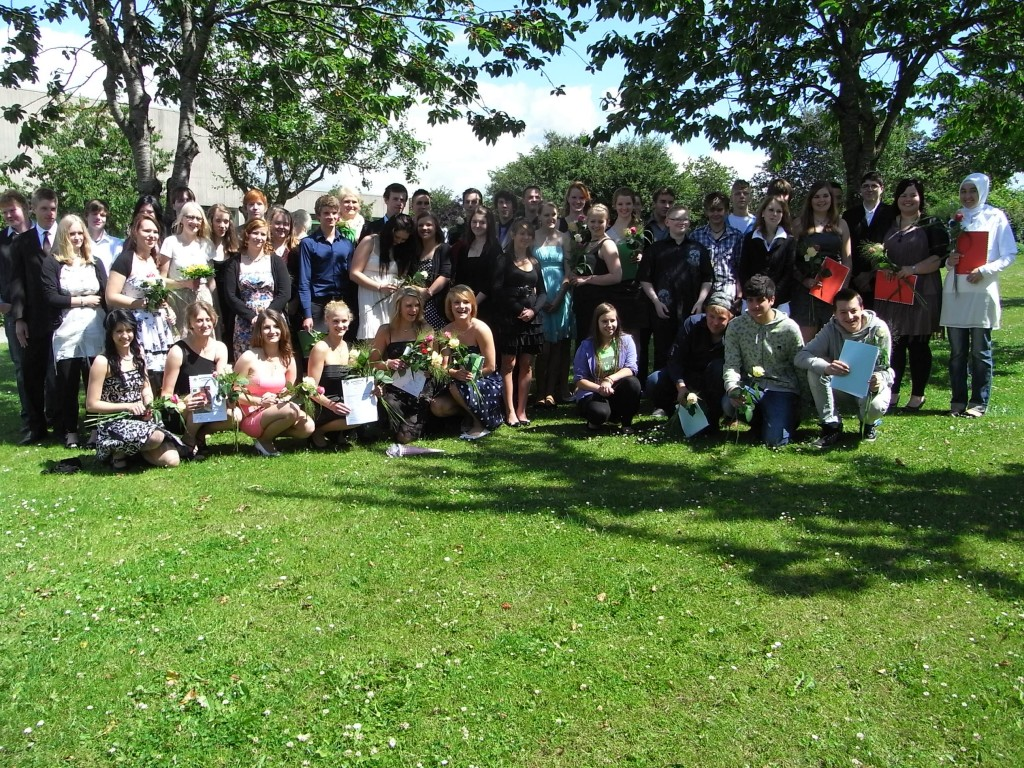 Unsere Abschlussschüler 2011
