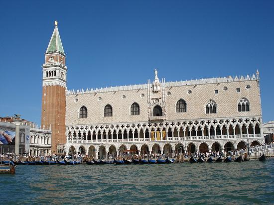 Campanile di San Marco und Dogenpalast (Palazzo Ducale)
