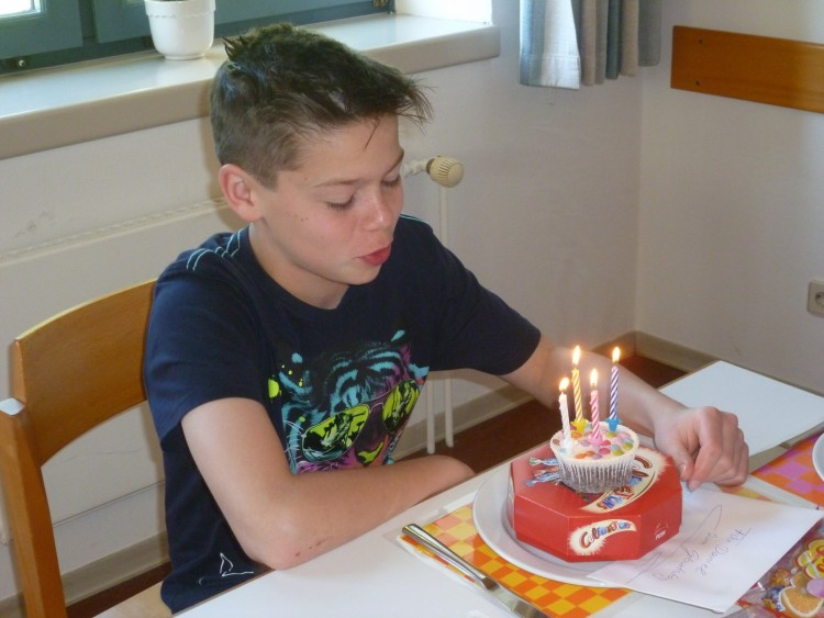 Geburtstagskind Daniel